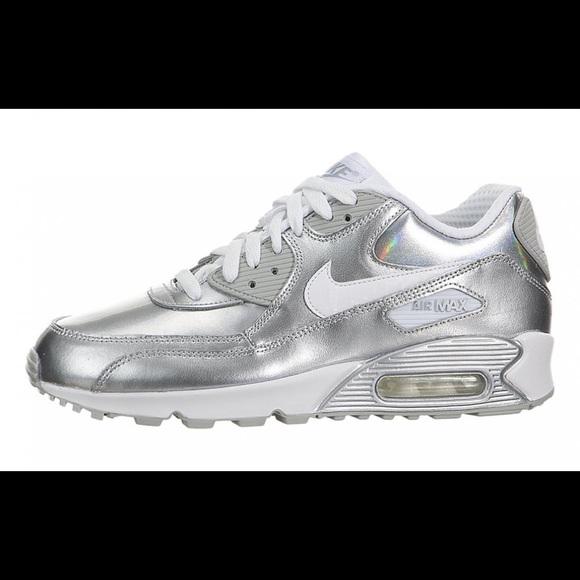 6f4824630a68 Nike Air Max 90 Premium (white metallic silver). M 5a616dfc33162713968ee729